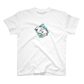 nogomeのコブシメの赤ちゃん T-shirts