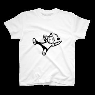 ◀︎©︎のあたんOfficial Goods Store の落下の達人③ T-shirts