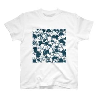 浮世絵犬Tシャツ T-shirts