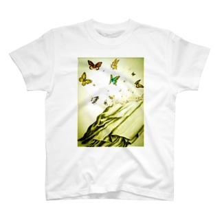 解放(ライト) T-shirts