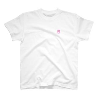 肉ロゴ T-shirts