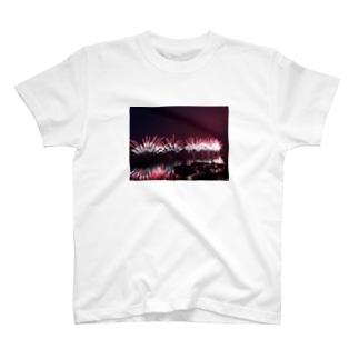 諏訪湖花火大会 T-shirts