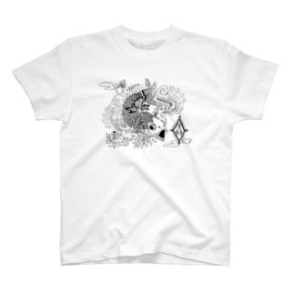 龍になりたくて。 T-shirts