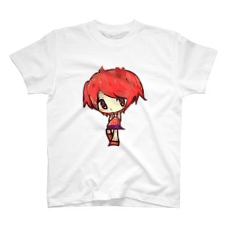 女のこ T-shirts