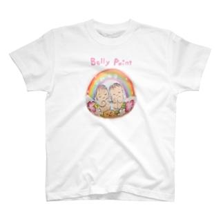 双子の赤ちゃん T-shirts