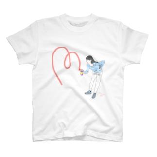 スプレー女子 T-shirts
