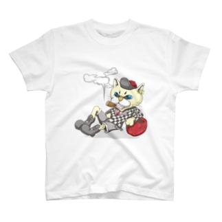 陽気な猫 T-shirts