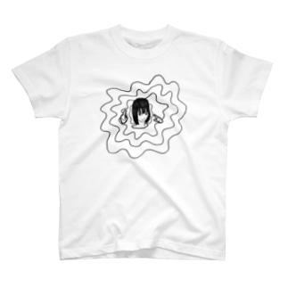 悩めるおにゃのこ T-shirts