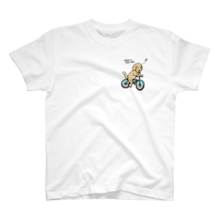 bicycle(両面2) T-shirts