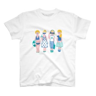 夏ガールズ T-shirts
