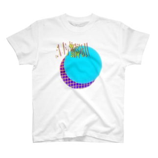 月が綺麗でした。(新月) T-shirts