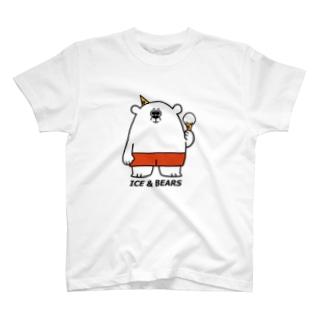 ICE & BEARS バニラ T-shirts