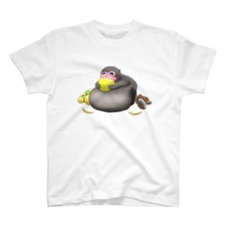 【ブサカワ!】デブサルTシャツ T-shirts