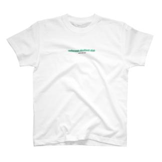 歪みロゴ(グリーン) T-shirts