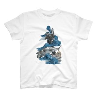 『土成流、吠える』 T-shirts