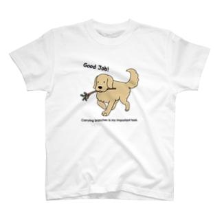 good job(両面) T-shirts