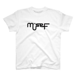 mÜse-Fロゴ T-shirts