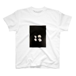 丸めたアルミホイル T-shirts