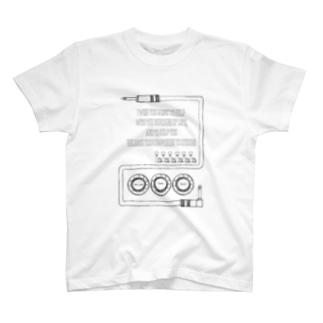 ギターっぽい柄 T-shirts
