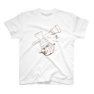 浦月面 T-shirts