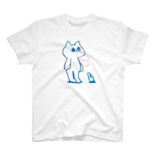 アイスクリーム、バイバイ T-shirts