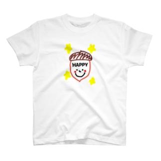 どんぐり君 T-shirts