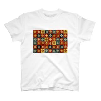 タイルがすき T-shirts