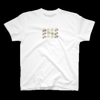 かるぼなーらショップ❁のめだまやき犬〜まったりします〜 T-shirts