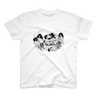 ごちゃごちゃ世界 T-shirts