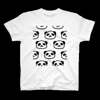 PUKKA堂のPANDANPA T-shirts