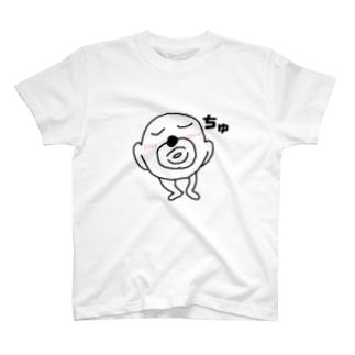 ちゅー顔 T-shirts