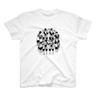 騎馬戦 T-shirts