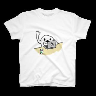 ヒモックマのサマーセールのノマドワーク T-shirts