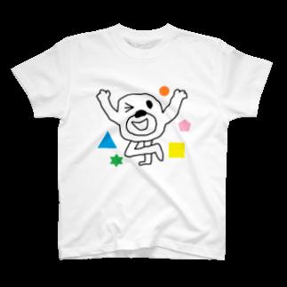 ヒモックマのサマーセールの◯△□ T-shirts