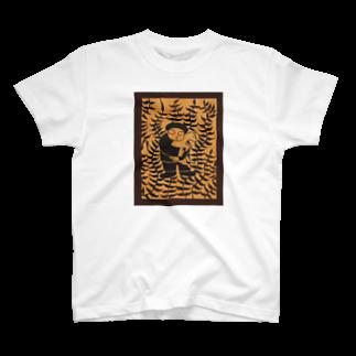 ツバメ堂の山羊と少年 T-shirts
