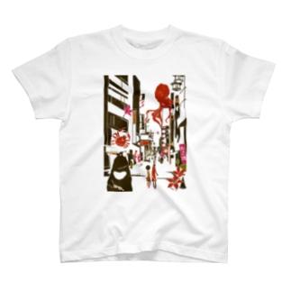 大阪 道頓堀 T-shirts