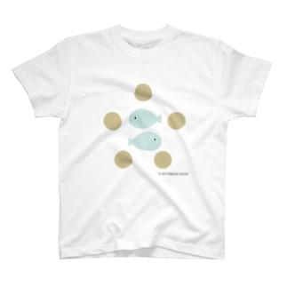 2ひきの魚と5つのパン T-shirts