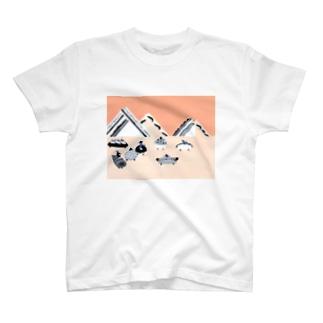パンカーレース T-shirts