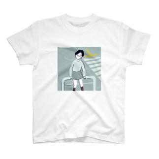 横断歩道でまちあわせちゃん T-shirts