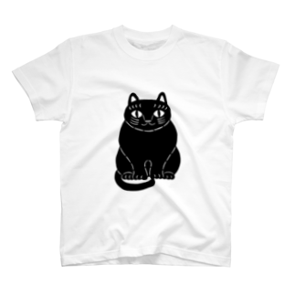 mikepunchの黒猫さん T-shirts