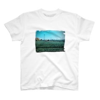 豊かな茶畑 T-shirts