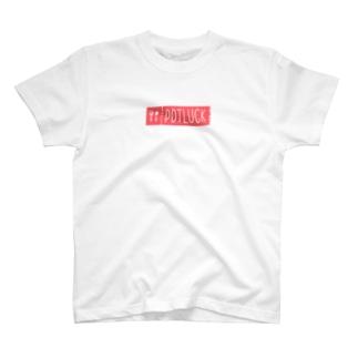 POTLUCK(ポットラック)のPOTLUCK公式ロゴグッズ T-shirts