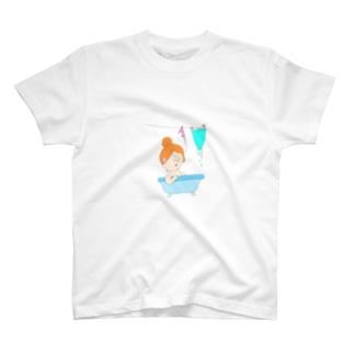 人魚姫のバスタイム T-shirts