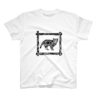 にゃん T-shirts