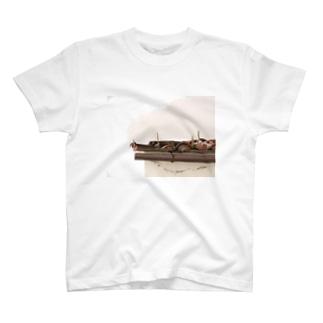 イタリアの屋根 T-shirts