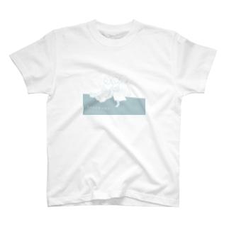 ちゃんともっちりpool T-shirts