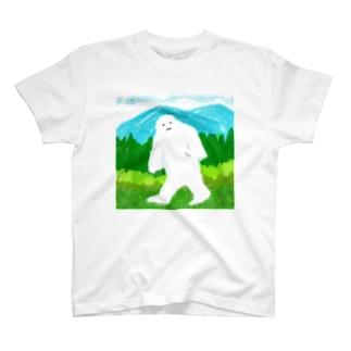 だいだらぼっち アウトドア T-shirts