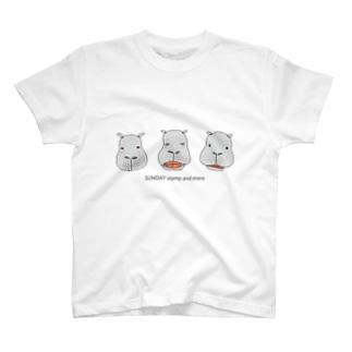 カバコ3姉妹 T-shirts
