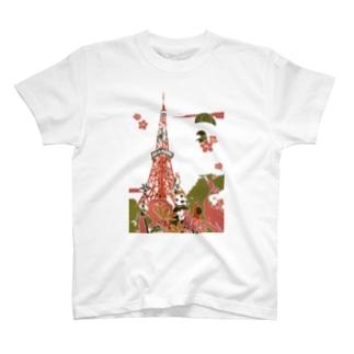 東京 東京タワー T-shirts