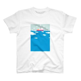 白夜の探検隊 T-shirts